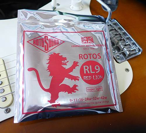 ROTOSOUND RED LION エレキギター弦レビュー