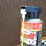 CAIG DeoxIT D5S-6はノズルを畳んだ状態でも使用可能